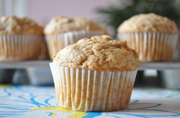 pumpkin spiced applesauce muffins | Muffins and Donuts | Pinterest
