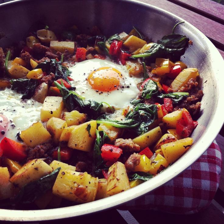Breakfast Skillet | Brunch | Pinterest