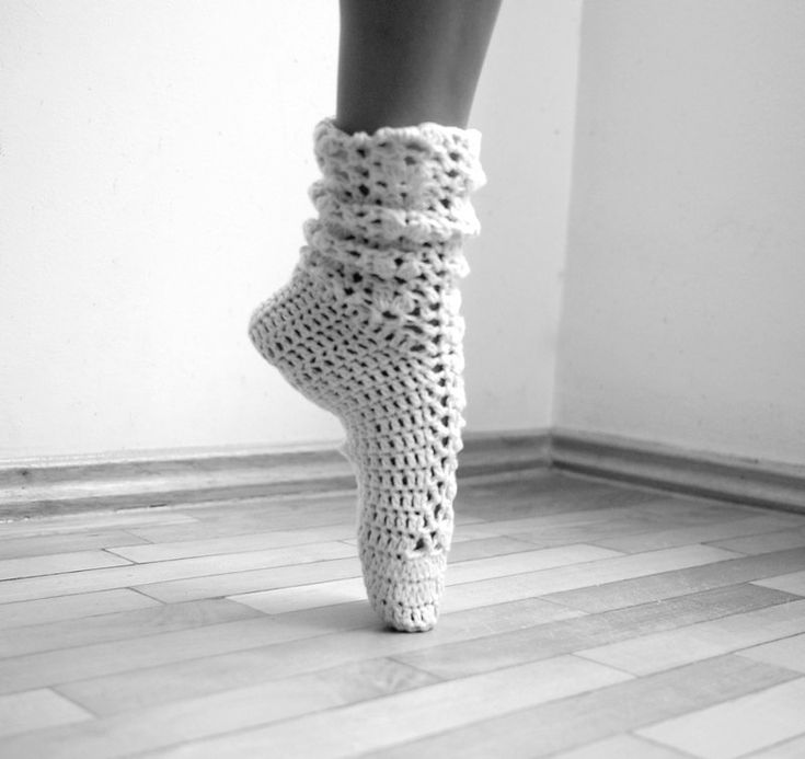 Crochet Yoga Socks : Socks, Leg warmers, lace cozy slippers PDF crochet pattern - DIY tuto ...