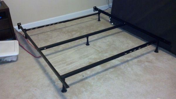 Adjustable Full Queen Bed Frame : Full queen adjustable bed frame furniture