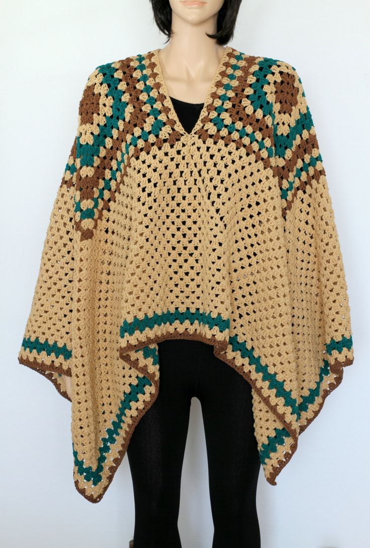 17 Easy Crochet Poncho Patterns for Women Sewingcom - satukis.info