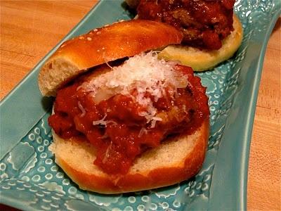 Italian Meatball Sliders | Just a Taste | Pinterest