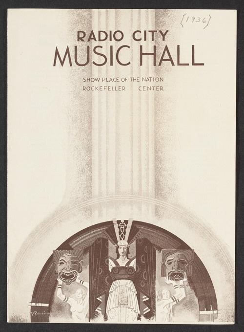 Art Deco Radio City Music Hall Design Like This