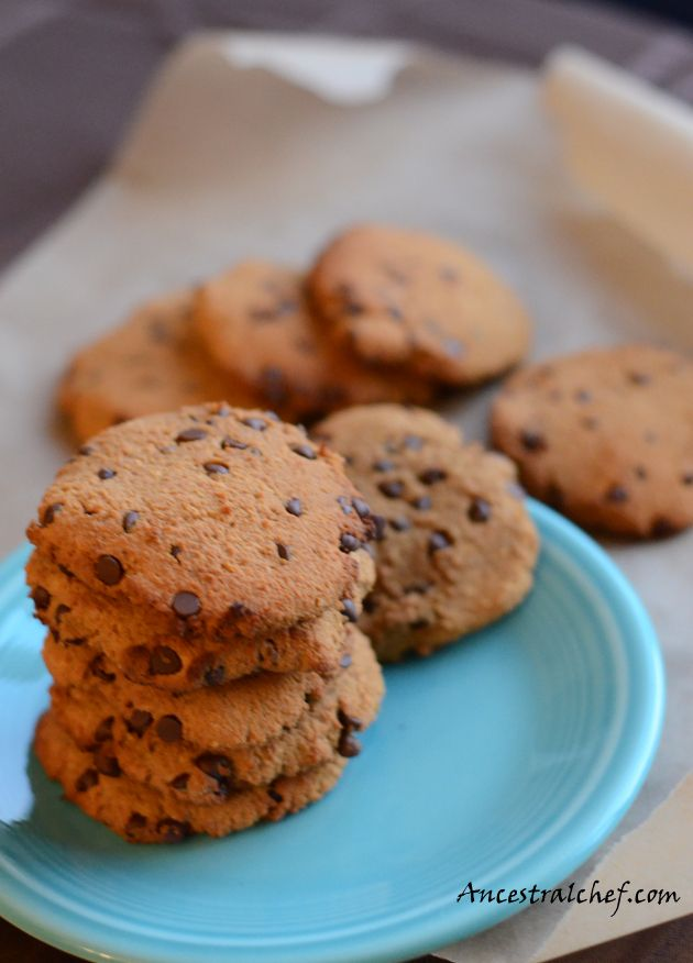 Paleo Chocolate Chip Cookies | My Eats (Paleo) | Pinterest