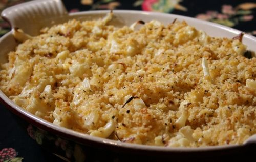 Roasted cauliflower gratin_ | Dinner Bell! | Pinterest