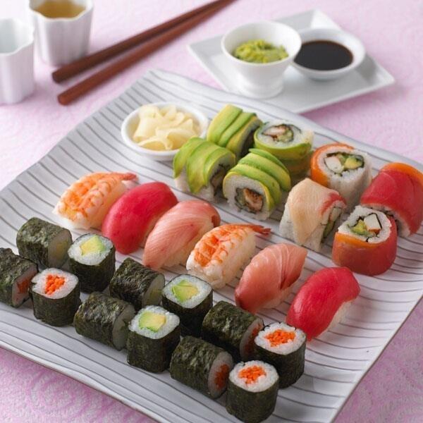 sushi   Bon Appetit   Pinterest