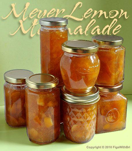 meyer lemon marmalade | Canning | Pinterest