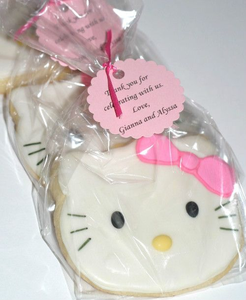 Giving A Baby Shower On A Budget ~ Give your baby a hello kitty theme birthday party