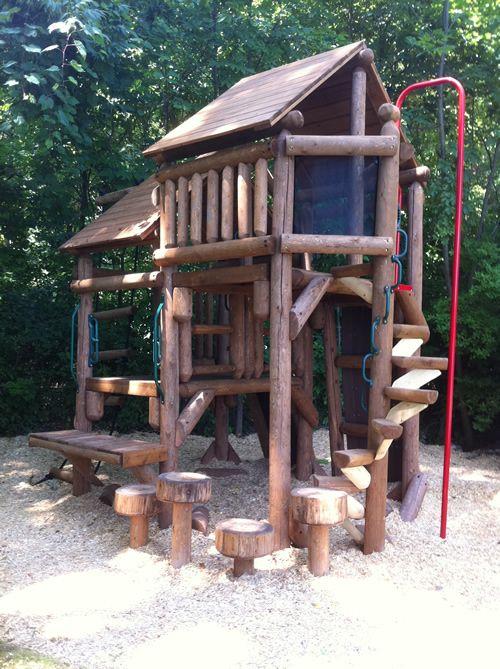 Custom Tree Fort Ponderosa Playground Home