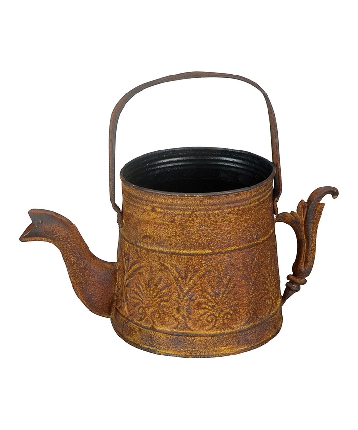 Rusted Metal Watering Can