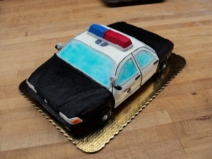 Police Car Cake Design : Police Car Cake Cake Ideas and Designs