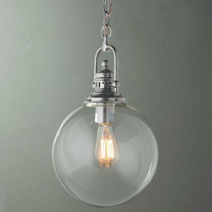 industrial glass pendant light best 25 industrial pendant