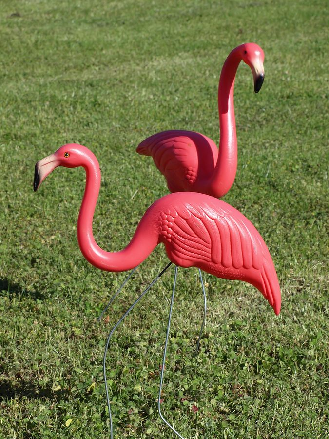 Flamingo Garden Ornaments