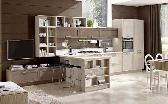 Cucina Soggiorno 25 Mq. Open Space Cucina E Soggiorno With Cucina ...