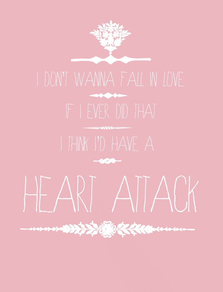 Heart Lyrics Tumblr Music Pinterest Demi Lovato