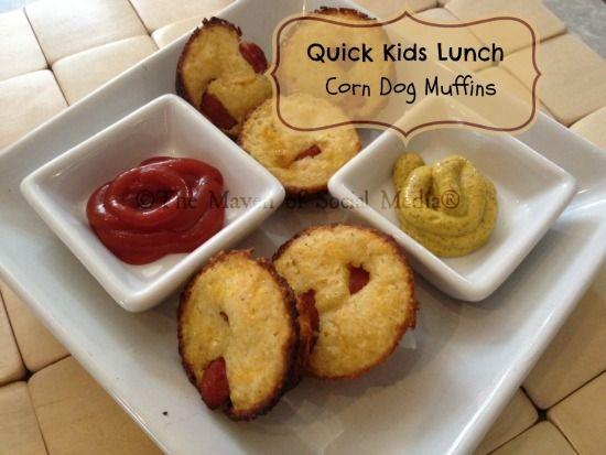 corn dog muffin | for the kids | Pinterest