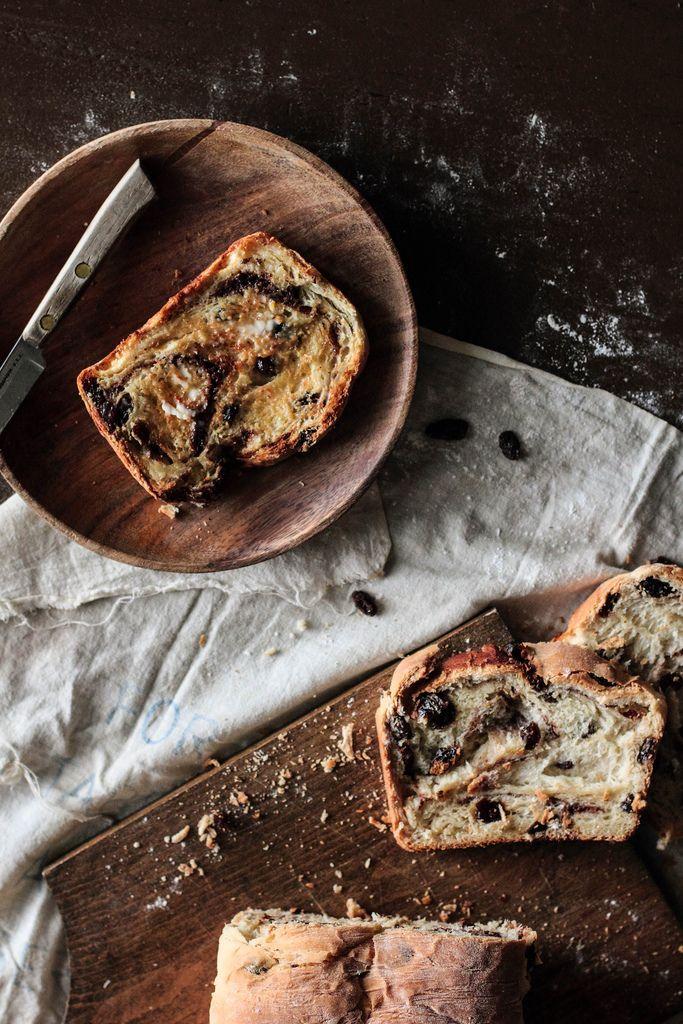 Cinnamon Raisin Swirl Bread | cook | Pinterest