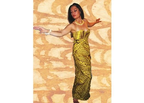 Samoan Puletasi (Dress)