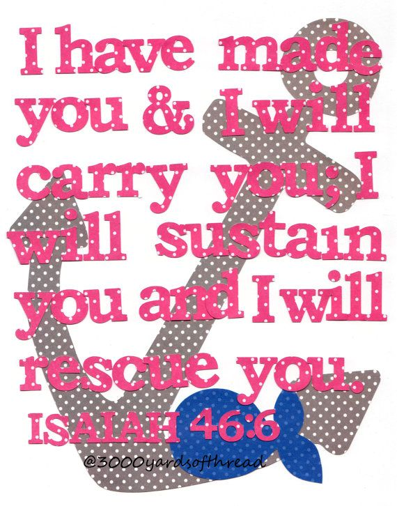 Nautical bible verse nursery art prints baby decor kids wall art chil