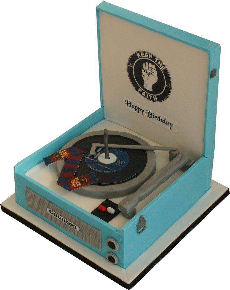 7039;s record player  Birthday and Novelty Cakes  Pinterest