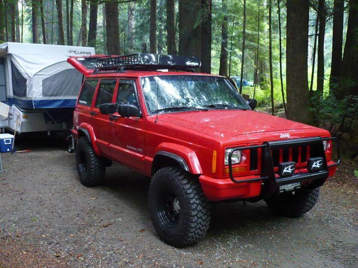 Lifted Jeep Srt8 >> Red Cherokee | Jeep Cherokee XJ | Pinterest