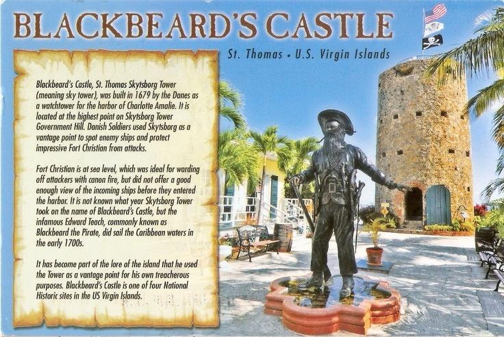 Blackbeard Castle Virgin Islands