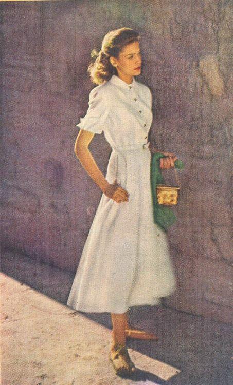 lauren bacall vintage fashion inspiration