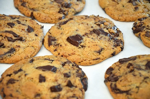 Chocolate Chunk Cookies | Biscuits & Cookies | Pinterest