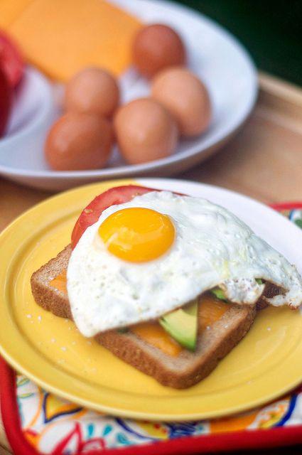 Egg-and-Tomato Breakfast Sandwich To Go Recipes — Dishmaps