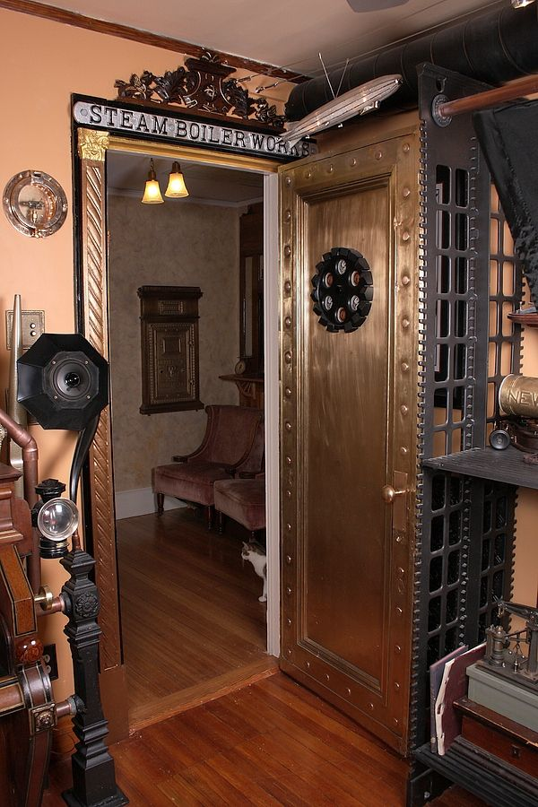 House by Bruce and Melanie Rosenbaum - steampunk mod - Steampunk pictures