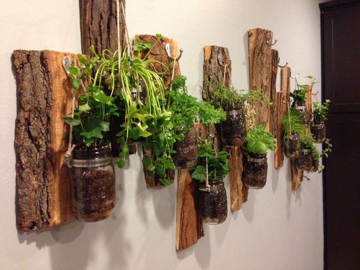 Indoor Herb Garden Green Thumb Pinterest