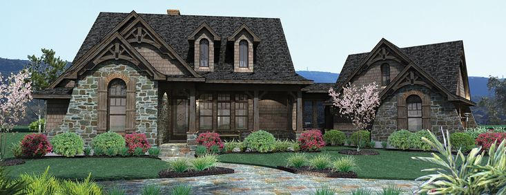 Home plan French country cottage Home Decorating