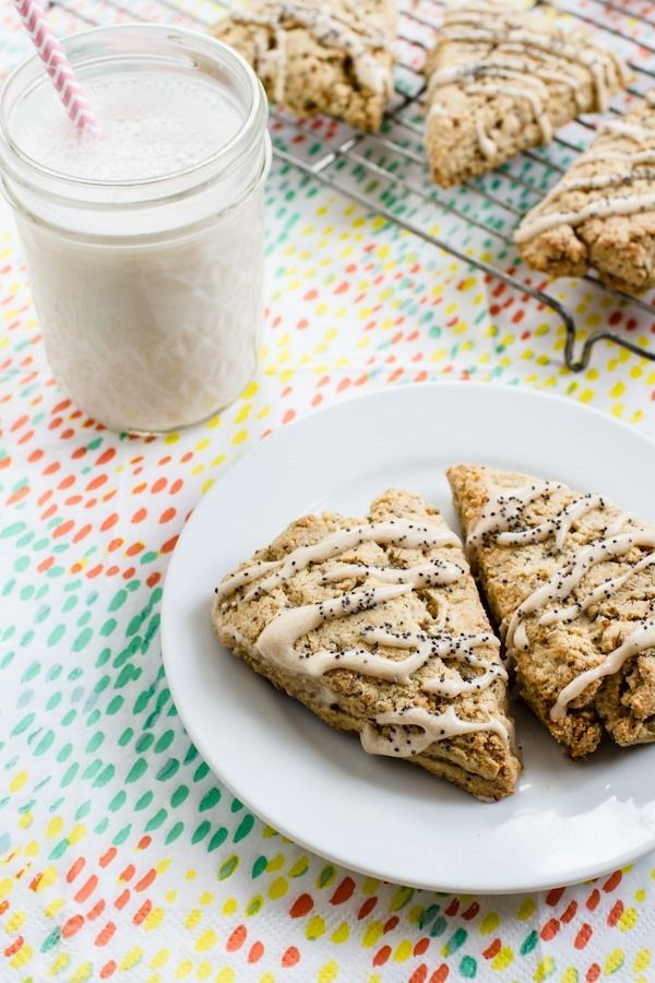 Gluten And Sugar-Free Lemon And Poppy Seed Scones Recipes — Dishmaps