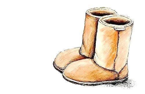 Ugg Boot Sketch