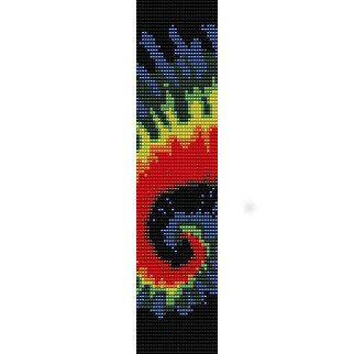 Free Craft Pattern L20076 Friendship Bracelets : Lion