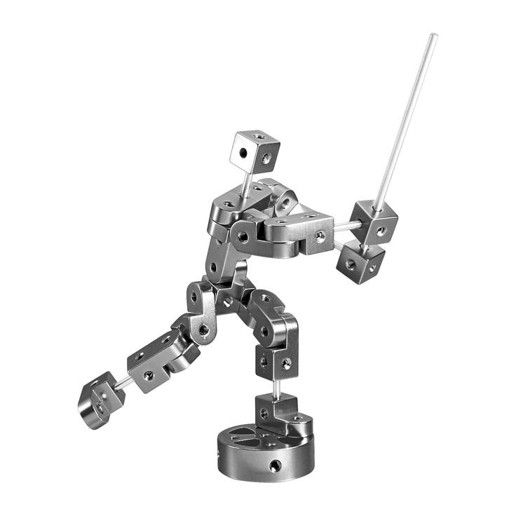{Playable Metal Pose} 3D model block set