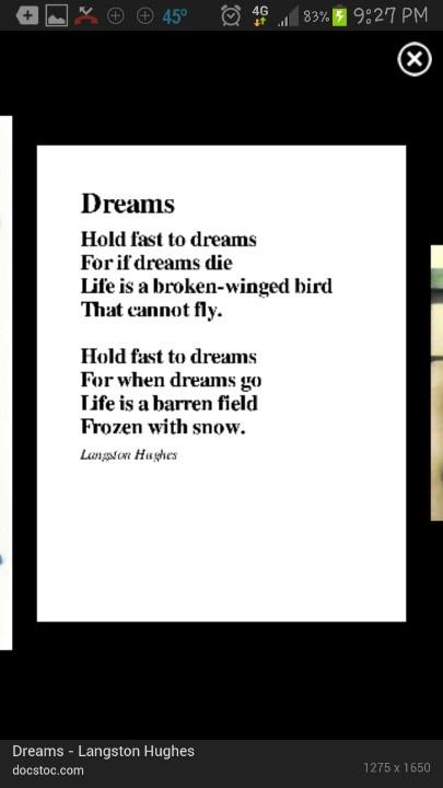 My favorite poem by langston hughes good stuff pinterest