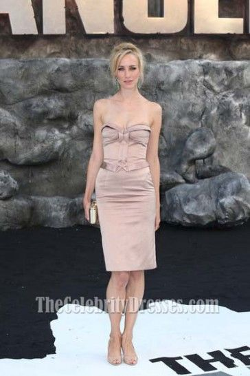 ... Gedmintas Strapless Cocktail Dress UK Premiere of 'The Lone Ranger