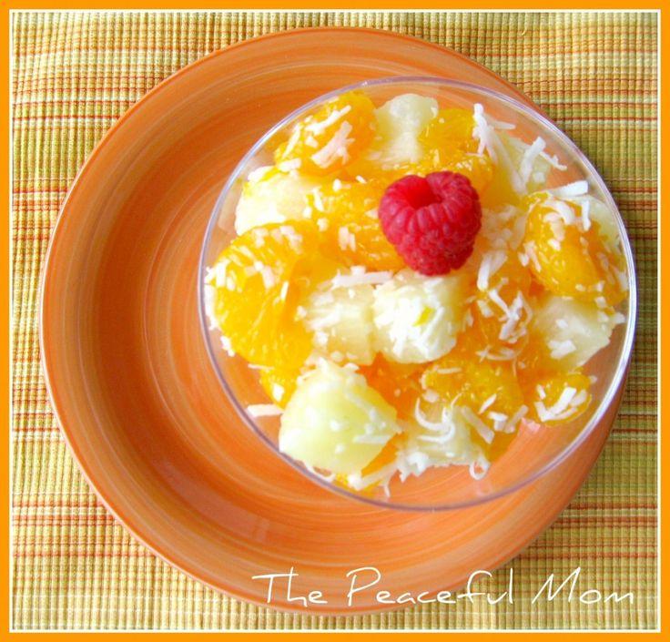 Simple Tropical Fruit Salad (GF)
