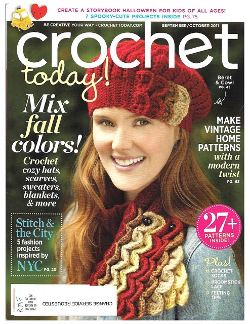 Magazine De Crochet : fan?tico tecido: croche hoje 2011 temas interesantes Pinterest