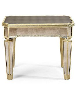 Coffee Table Macys Marais Table Collection, Mirrored - Coffee, Console & End Tables ...
