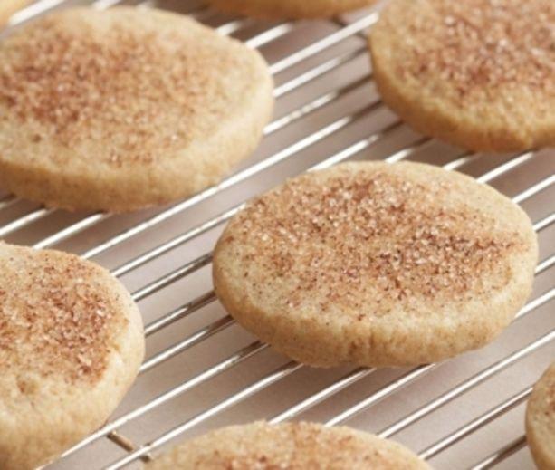 Cinnamon-Sugar Cookies | Healthy (boo!) | Pinterest