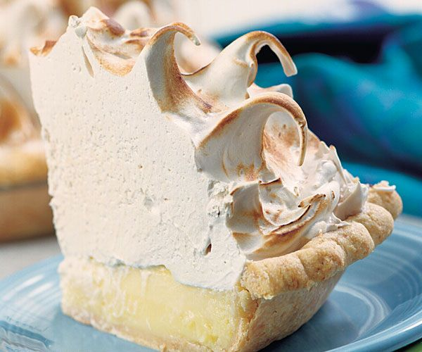 lemon-lime meringue pie.. I have to admit, I have made many lemon ...