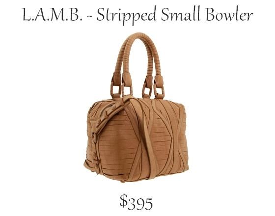 Stripped Bowler Bag http://nesssavesthedayaway.blogspot.com