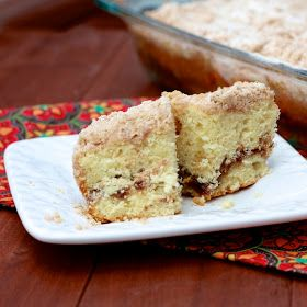 The Sweets Life: Extra Crumb Cinnamon Swirl Coffee Cake