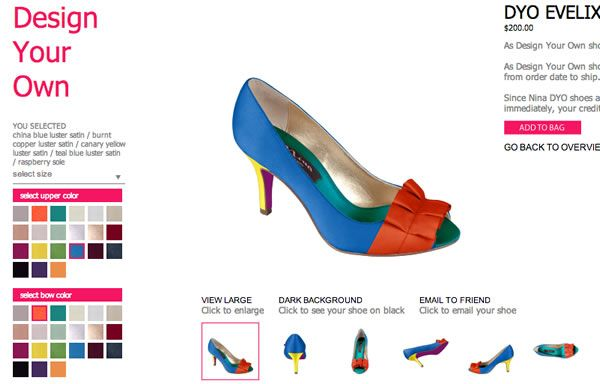 Design Your Own Womens Shoes Online | Upper Street