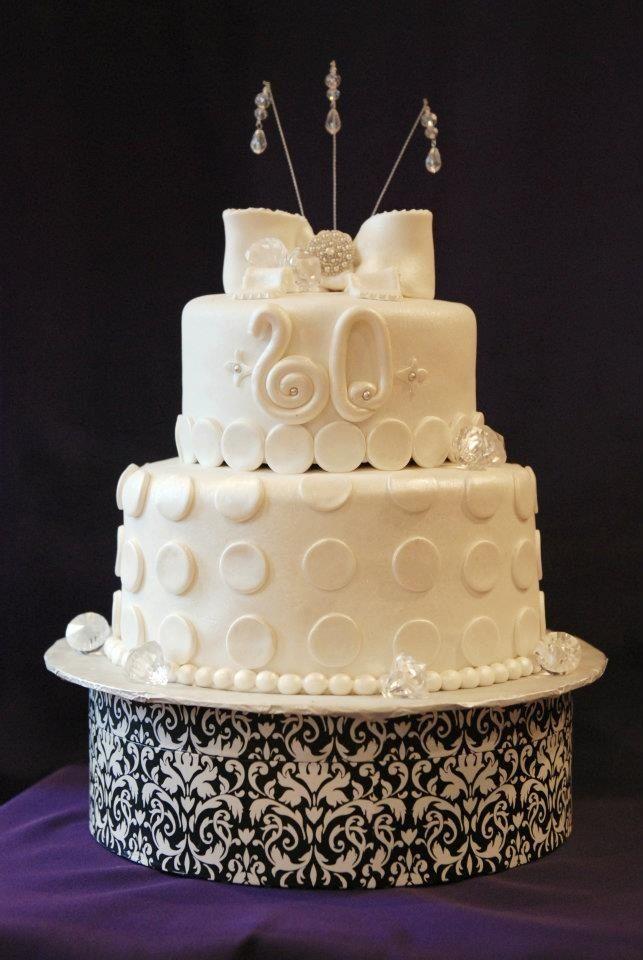 60th anniversary cake Anniversary ideas Pinterest
