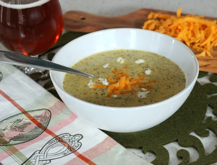 Beer, Broccoli, and Cheese Soup