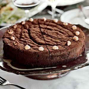 Chocolate-Bourbon Cake | Recipe