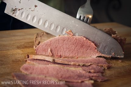 Home Cured Corned Beef - #stpatricksday #charcuterie